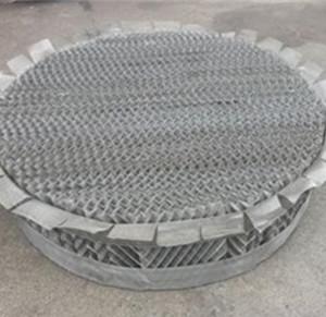 丝网波纹填料(带防壁流